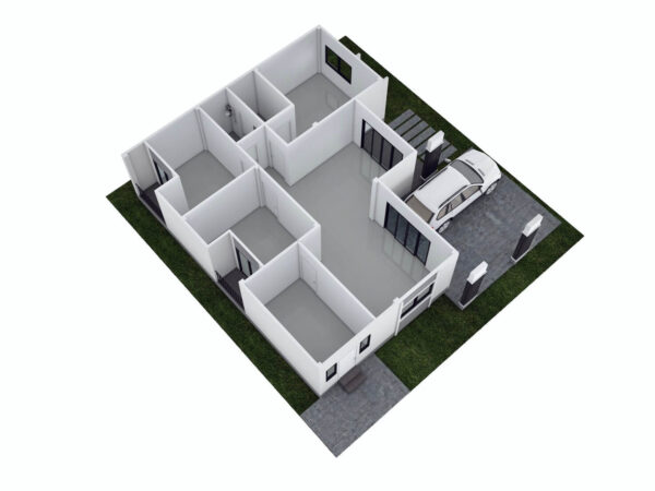 บ้านเดี่ยว โครงการใหม่ สุขสิริแฟมิลี่ 1 ปากแพรก กาญจนบุรี