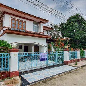 บ้านเดี่ยว 2 ชั้น หมู่บ้านภัสสร1 คลองสาม (หลังมุม)