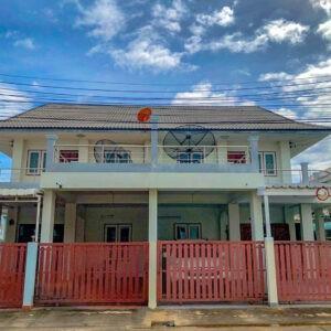 บ้านแฝด 2 ชั้น หมู่บ้านรัตนพงษ์ ท่ามะกา กาญจนบุรี